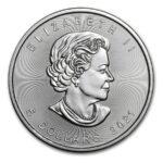 2021 Kanada Silver Maple Leaf BU