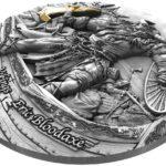 2020 Niue 2 oz sølv «Vikings – Eric Bloodaxe» Ultra High Relief Antikk