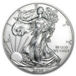 2020 USA American Silver Eagle 500 x 1 oz Monster Box «Bestillingsvare»