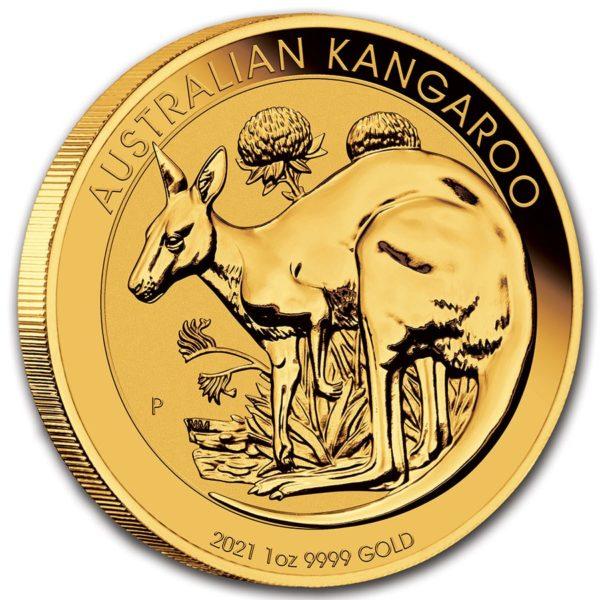 2021 Australia 1 oz Gull Kangaroo BU