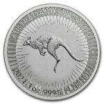 2021 Australia 1 oz Platinum Kangaroo BU M/Kapsel