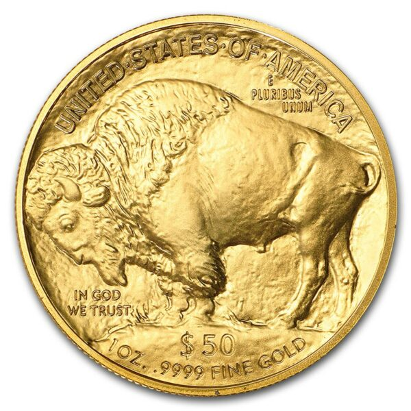 2021 USA 1 oz Gold Buffalo BU M/Kapsel
