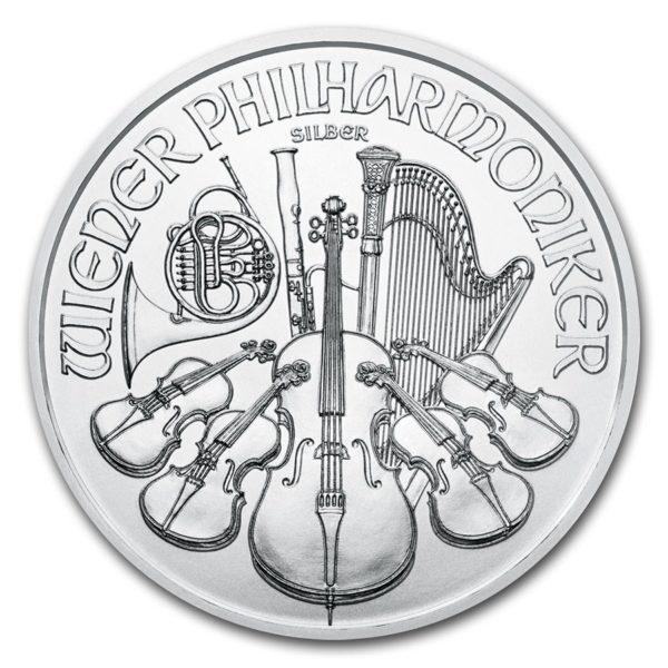 2021 Østerrike 1 oz Sølv Philharmoniker BU