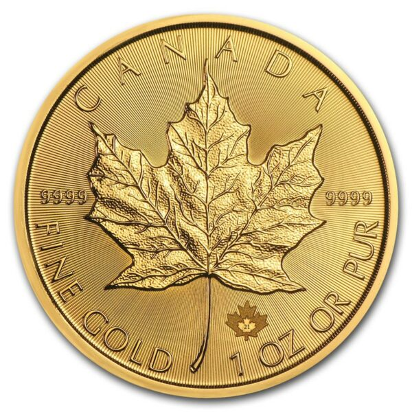 2021 Kanada 1 oz Gull Maple Leaf BU M/Kapsel