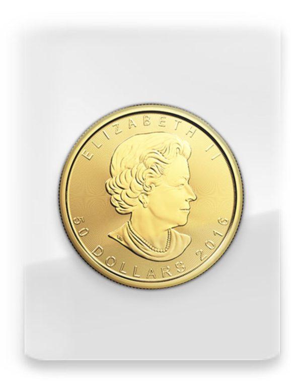 2016 Kanada 1 oz Gold Maple Leaf BU «Sealed»