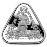 2021 Australia 1 oz Sølv «Shipwreck Series – Zeewijk» BU M/Kapsel