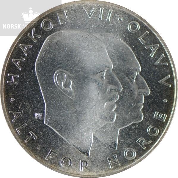 1970 25 Kroner 25,37 gram Sølv Frigjøringen 25 År