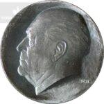 1978 50 kroner 24,97 gram sølv Kong Olav V 75 år