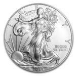 2014 USA 1 oz Sølv «Silver American Eagle» Sirkulert