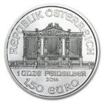 2014 Austria 1 oz Silver Philharmonic BU adv